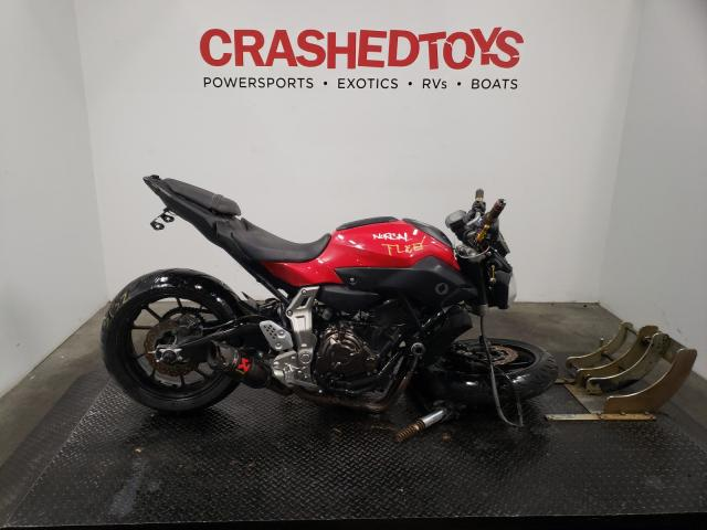 Yamaha salvage cars for sale: 2015 Yamaha FZ07