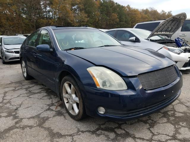 Vehiculos salvage en venta de Copart Austell, GA: 2004 Nissan Maxima SE