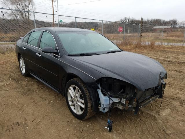 Salvage cars for sale from Copart Madison, WI: 2013 Chevrolet Impala LTZ