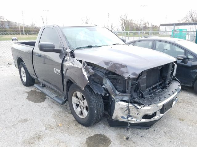 Salvage cars for sale from Copart Bridgeton, MO: 2014 Dodge RAM 1500 ST