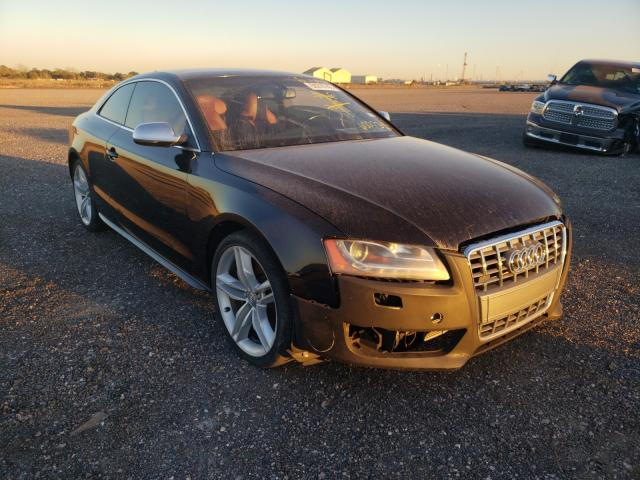 Salvage cars for sale from Copart Houston, TX: 2012 Audi S5 Premium
