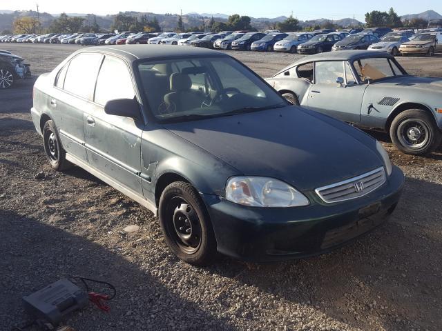 Honda Civic salvage cars for sale: 1999 Honda Civic