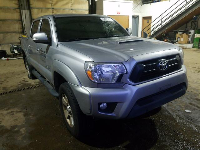 Salvage cars for sale from Copart Graham, WA: 2015 Toyota Tacoma DOU