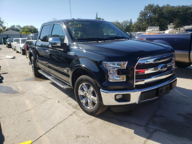 Salvage cars for sale from Copart Punta Gorda, FL: 2015 Ford F150 Super