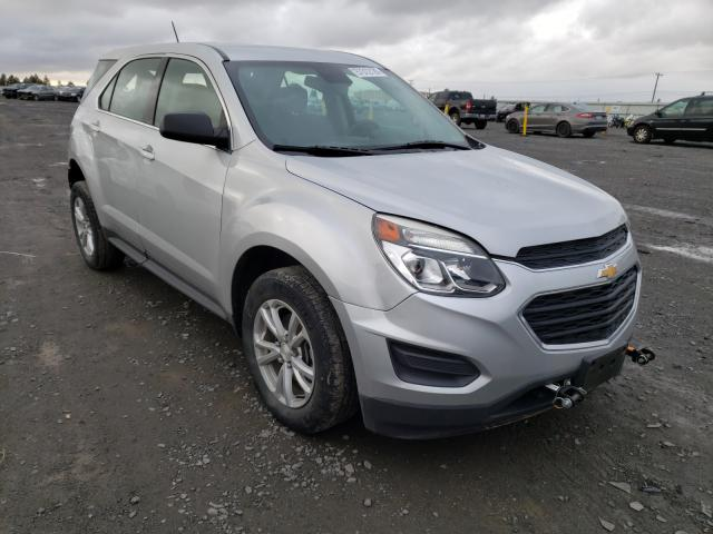 Salvage cars for sale from Copart Airway Heights, WA: 2017 Chevrolet Equinox LS