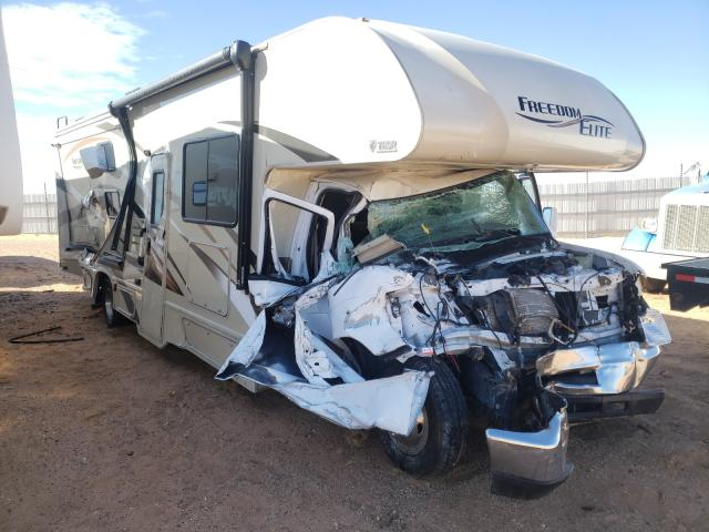 Salvage cars for sale from Copart Andrews, TX: 2017 Thor Freedom EL