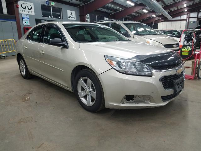 Salvage cars for sale from Copart East Granby, CT: 2015 Chevrolet Malibu LS