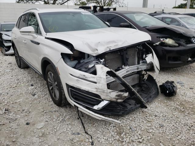 Salvage cars for sale from Copart Homestead, FL: 2019 Lincoln Nautilus S