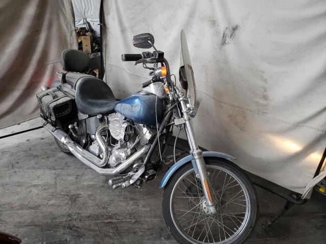 Salvage motorcycles for sale at Hueytown, AL auction: 2006 Harley-Davidson Fxsti