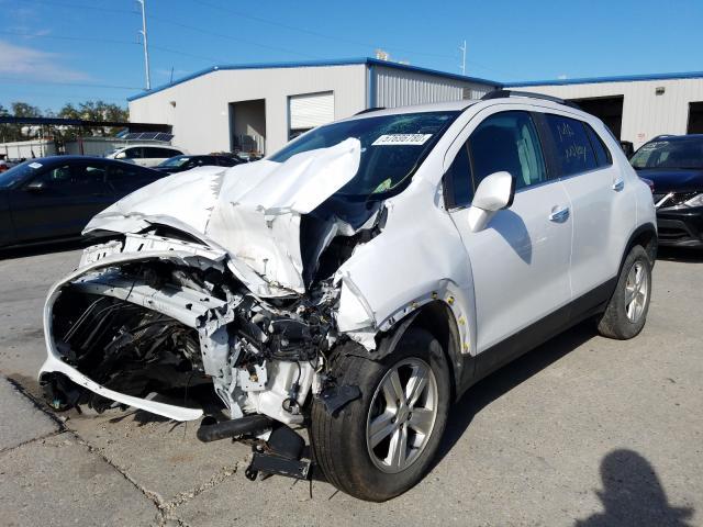 из сша 2017 Chevrolet Trax 1Lt 1.4L KL7CJLSB7HB114763