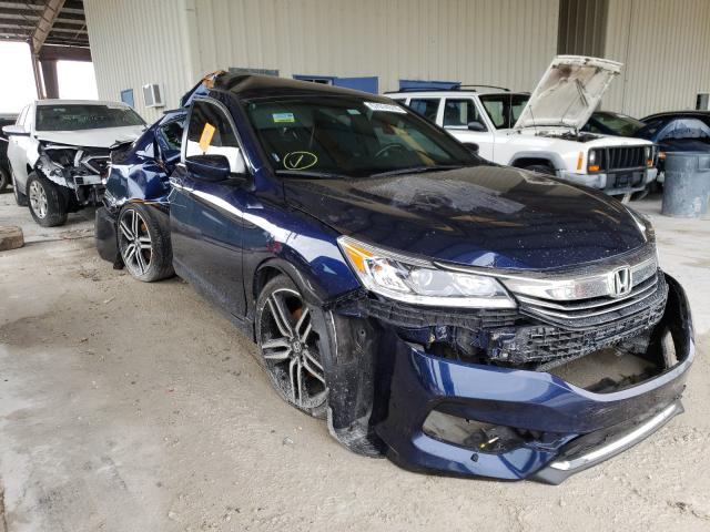 Salvage cars for sale from Copart Homestead, FL: 2016 Honda Accord Sport