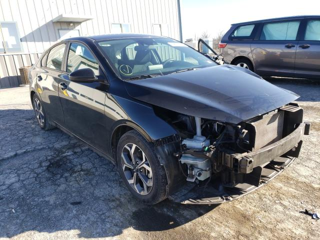 Salvage cars for sale from Copart Chambersburg, PA: 2019 KIA Forte FE