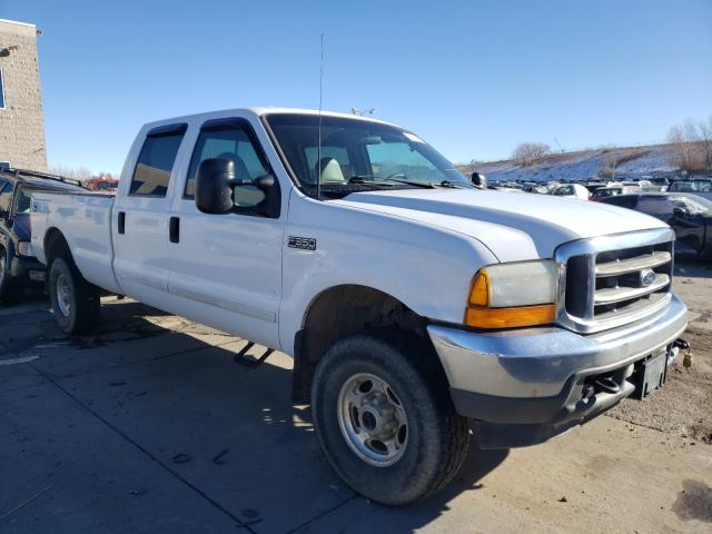 Salvage cars for sale from Copart Littleton, CO: 2001 Ford F350 SRW S