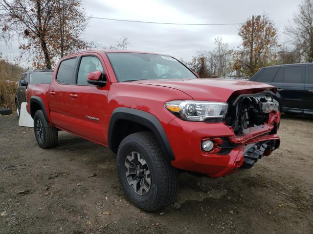 Salvage cars for sale from Copart Baltimore, MD: 2021 Toyota Tacoma DOU