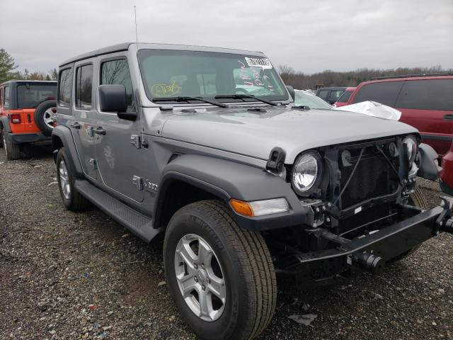 Salvage cars for sale from Copart Columbia Station, OH: 2020 Jeep Wrangler U