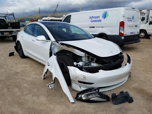 Salvage cars for sale from Copart Kapolei, HI: 2020 Tesla Model 3