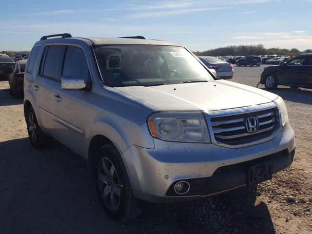 Salvage cars for sale from Copart San Antonio, TX: 2014 Honda Pilot Touring