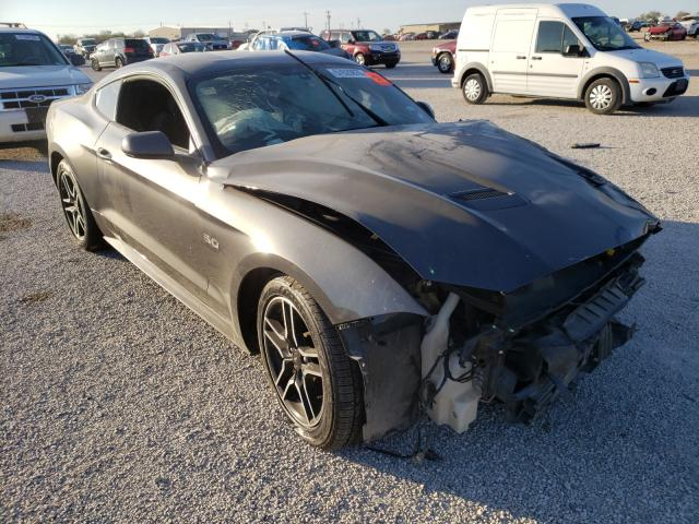 Salvage cars for sale from Copart San Antonio, TX: 2018 Ford Mustang GT