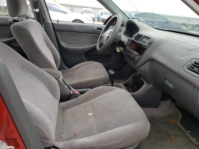 1997 HONDA CIVIC LX - Left Rear View