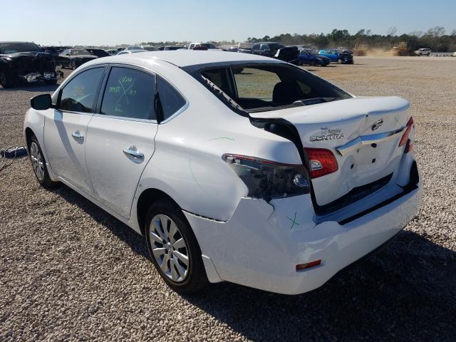 купить 2015 Nissan Sentra S 1.8L 3N1AB7AP5FY373863