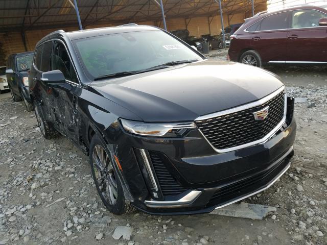 Salvage cars for sale at Cartersville, GA auction: 2020 Cadillac XT6 Premium