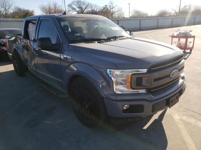 Salvage cars for sale from Copart Wilmer, TX: 2019 Ford F150 Super