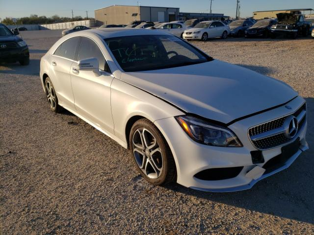 Salvage cars for sale from Copart San Antonio, TX: 2016 Mercedes-Benz CLS 400 4M