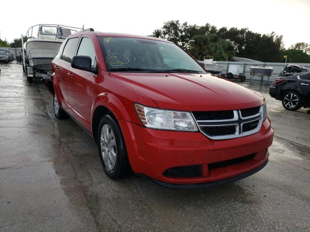 Salvage cars for sale from Copart Punta Gorda, FL: 2016 Dodge Journey SE