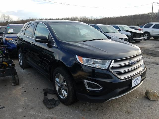 Salvage cars for sale from Copart Louisville, KY: 2016 Ford Edge SEL