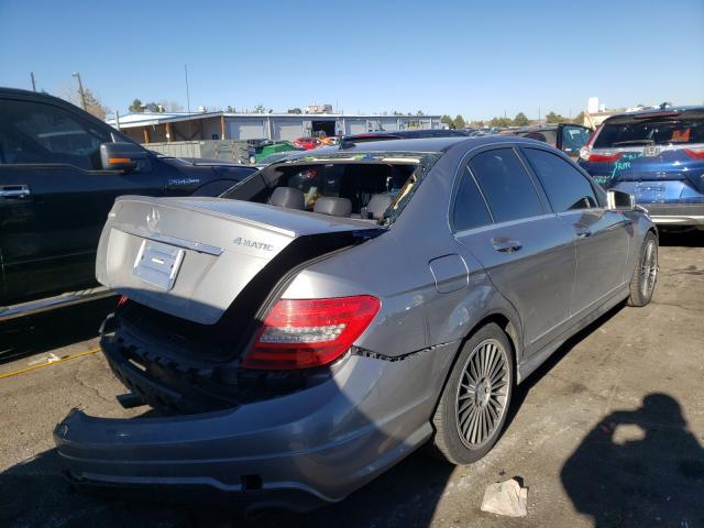 цена в сша 2012 Mercedes-Benz C 300 4Mat 3.0L WDDGF8BB8CA624417