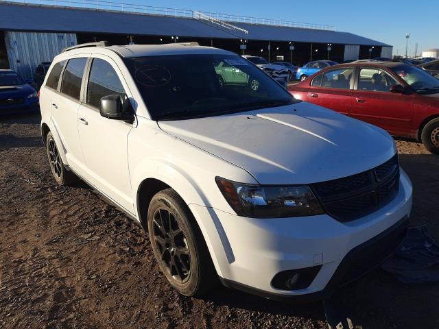 Salvage cars for sale from Copart Phoenix, AZ: 2016 Dodge Journey SX