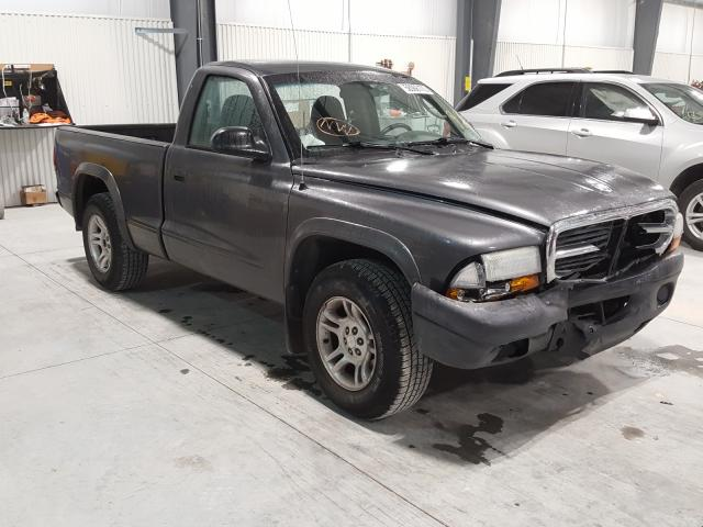 Salvage cars for sale from Copart Greenwood, NE: 2004 Dodge Dakota SXT