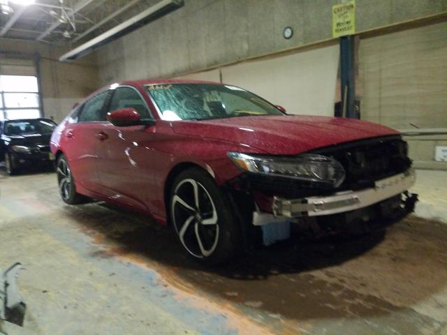 Salvage cars for sale from Copart Indianapolis, IN: 2020 Honda Accord Sport