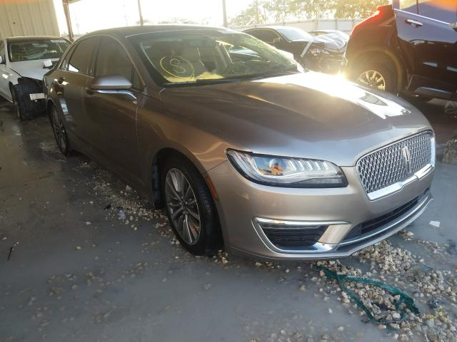 Salvage cars for sale from Copart Homestead, FL: 2018 Lincoln MKZ Select