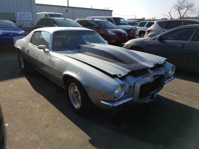 Chevrolet Camaro salvage cars for sale: 1971 Chevrolet Camaro