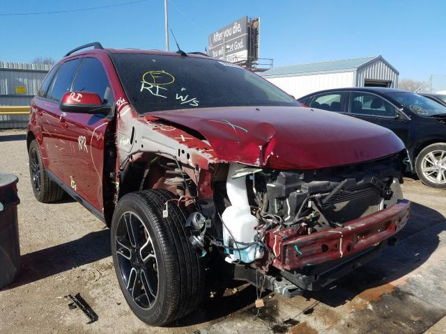 Salvage cars for sale from Copart Wichita, KS: 2014 Ford Edge SEL