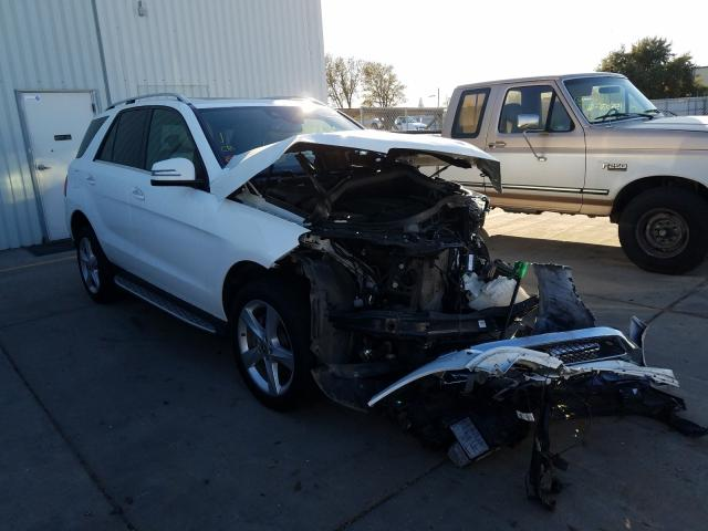 Salvage cars for sale from Copart Sacramento, CA: 2018 Mercedes-Benz GLE 350 4M