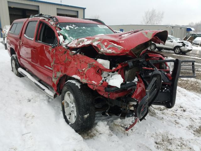 Salvage cars for sale from Copart Duryea, PA: 2013 Toyota Tacoma DOU