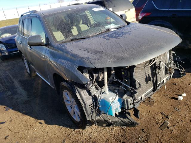 Salvage cars for sale from Copart Portland, MI: 2013 Toyota Highlander