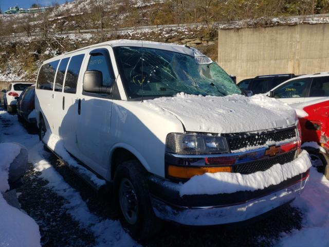 Salvage cars for sale from Copart West Mifflin, PA: 2015 Chevrolet Express G3