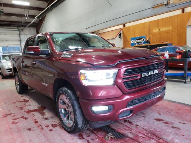 Salvage cars for sale from Copart Angola, NY: 2019 Dodge RAM 1500 BIG H