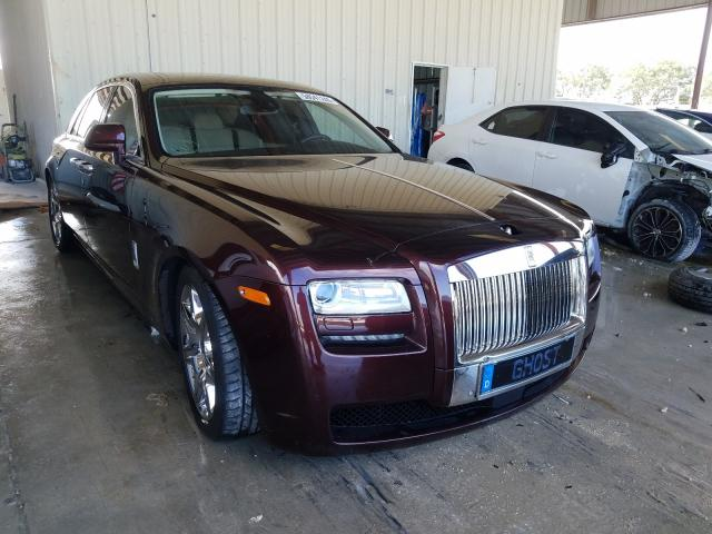Salvage cars for sale from Copart Homestead, FL: 2012 Rolls-Royce Ghost