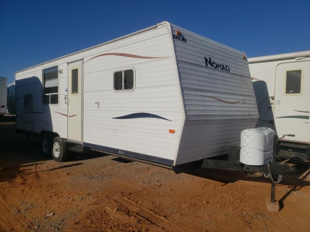 Nomad salvage cars for sale: 2007 Nomad Travel Trailer