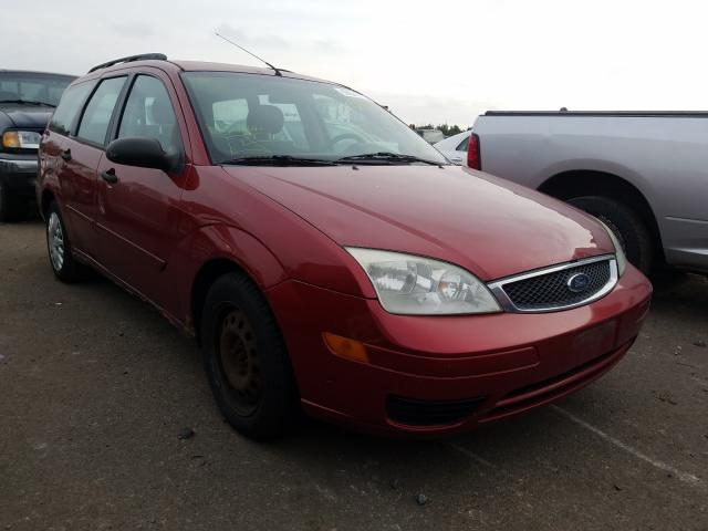 Ford Focus salvage cars for sale: 2005 Ford Focus