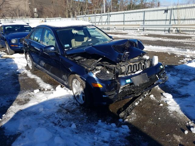 Vehiculos salvage en venta de Copart North Billerica, MA: 2012 Mercedes-Benz C 300 4matic