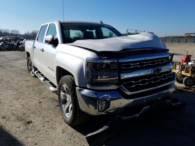 Salvage cars for sale from Copart Kansas City, KS: 2017 Chevrolet Silverado