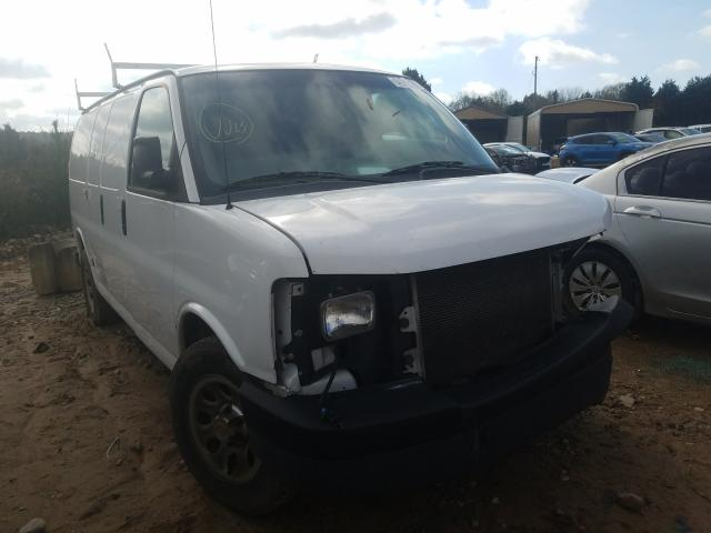 Salvage cars for sale from Copart China Grove, NC: 2013 Chevrolet Express G1