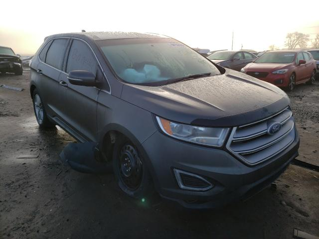 Salvage cars for sale from Copart Eugene, OR: 2017 Ford Edge SEL