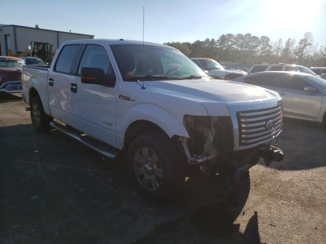 Salvage cars for sale from Copart Lufkin, TX: 2011 Ford F150 Super