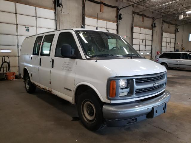 Salvage cars for sale from Copart Blaine, MN: 2002 Chevrolet Express G2